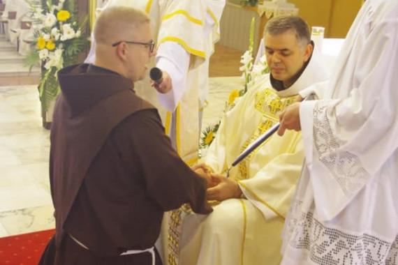 Svečani zavjeti fra Antonia Kirina