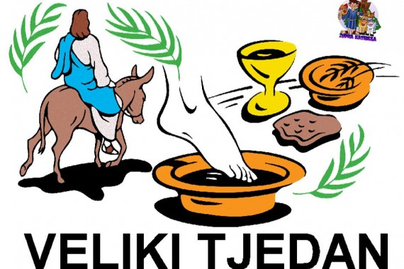 Raspored liturgijskih slavlja u Velikom tjednu